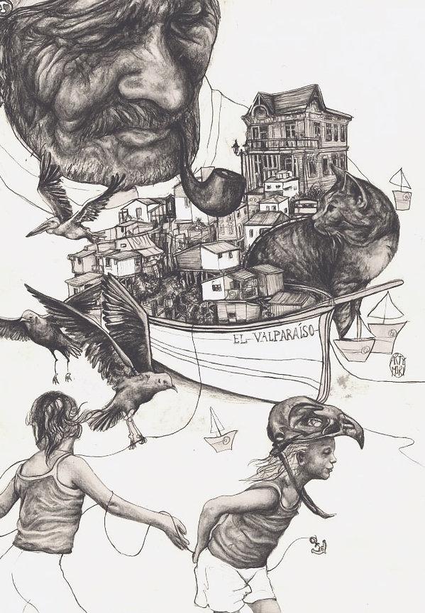 #valpo #puerto #art #artymori #illustrat