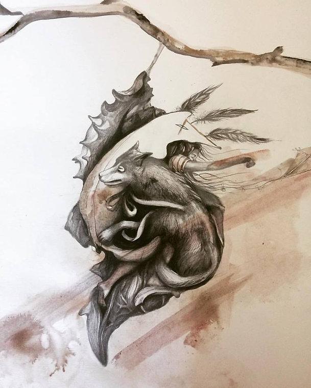#chrysalide #graphite #art #artymori