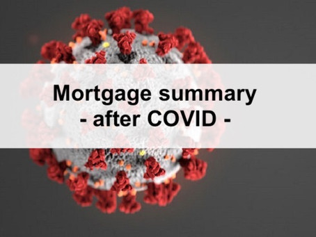 Everything you wanted to know about the mortgage market - after COVID 2020 summary