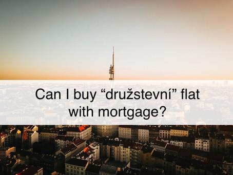 """Can I buy a """"družstevní"""" flat with a mortgage?"""