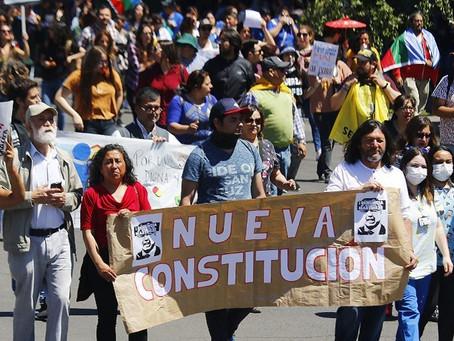 67% está a favor de una nueva Constitución para Chile