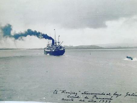 'Winnipeg', el barco con el que Neruda salvó a más de dos mil refugiados españoles.