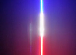 LED Light Whip 4&6 Foot Red White And Blue Patriot Series Pyramid LED Whips