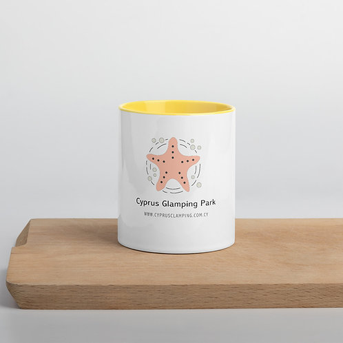 Starfish Mug with Color Inside