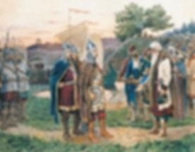 Призвание князя – встреча князя со старе
