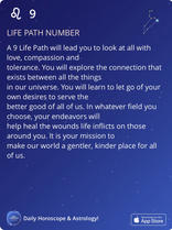 LIFE PATH NUMBER
