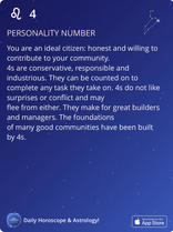 PERSONALITY NUMBER