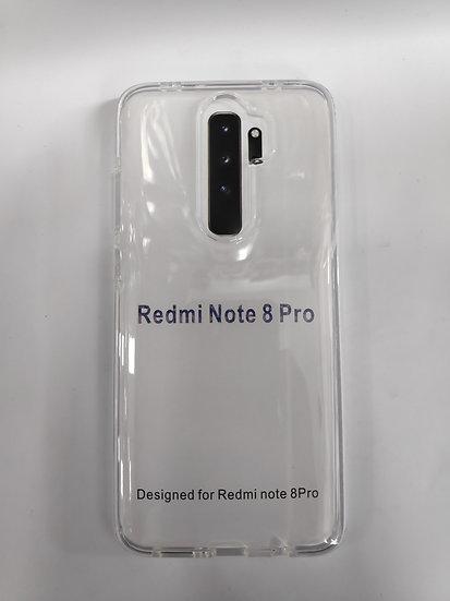 Redmi Note 8 Pro Transparent Case.