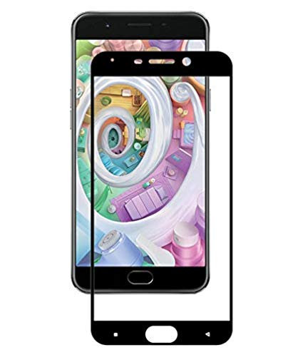 OPPO F1S Black 5D Tempered Glass (Full Glue)