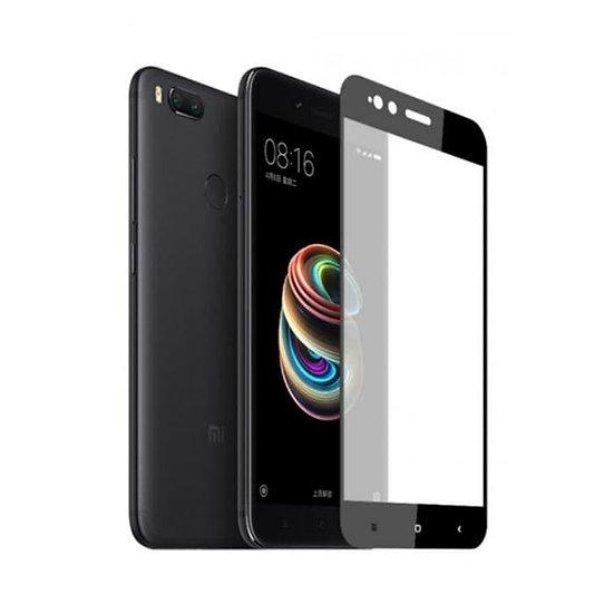 Redmi 5X/A1 Black 5D Tempered Glass (Full Glue)