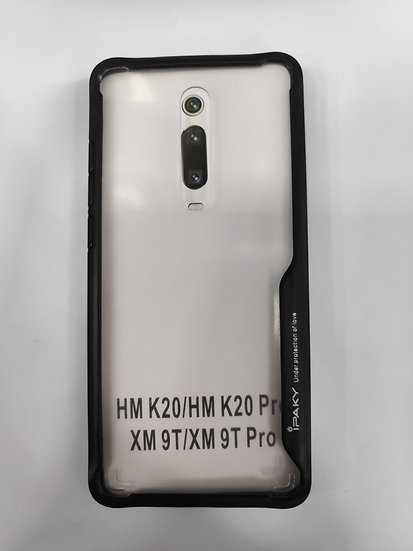 MI 9T / MI 9T Pro / K20 / K20 Pro Transparent Hard Case.