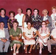 צוות מדריכי ילדי לינדנפלס בכנס ה-30 יולי 1977