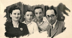 משפחת מלינק  תל אביב  1951