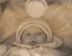 צבי חטקביץ - תינוק בעגלה