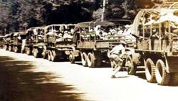 שיירת המשאיות ממרסיי לנמל סט