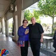 עם פרלה דנון נשיאת הקהילות היהודיות בדרו