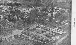 צילום אוירי של מחנה פפנדורף