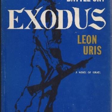 יצא לאור סיפרו של ליאון יוריס EXODUS בשנת 1958