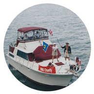 במשט הזיכרון לאקסודוס בבלטימור בשנת 1997 ספינה  זו מדמה את אחת המשחתות הבריטיות אשר תקפו את האקסודוס  HMS Charity
