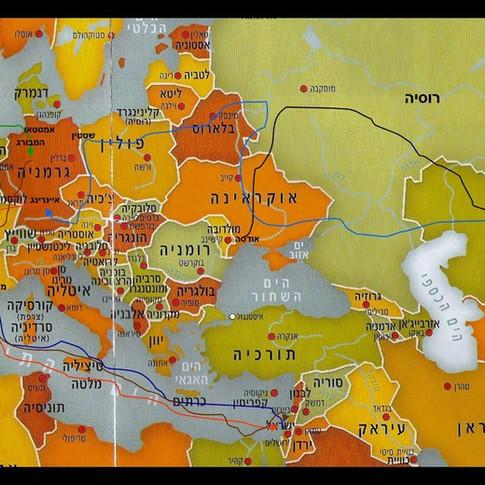 אריה איתמר מתאר את הבריחה והעפלה של משפחתו בשנים 1941-1947