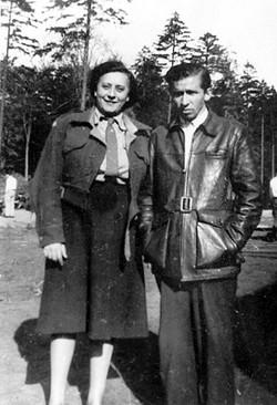 מרדכי רוזמן במחנה העקורים פפנדורף