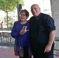 עם פרלה דנון נשיאת הקהילות היהו