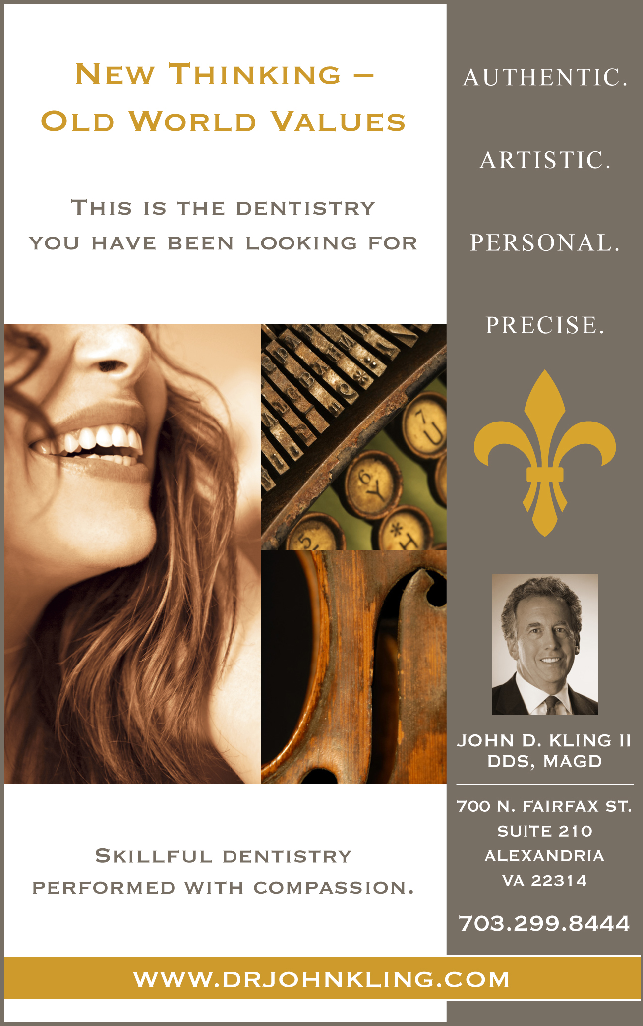 Dental practice branding ad