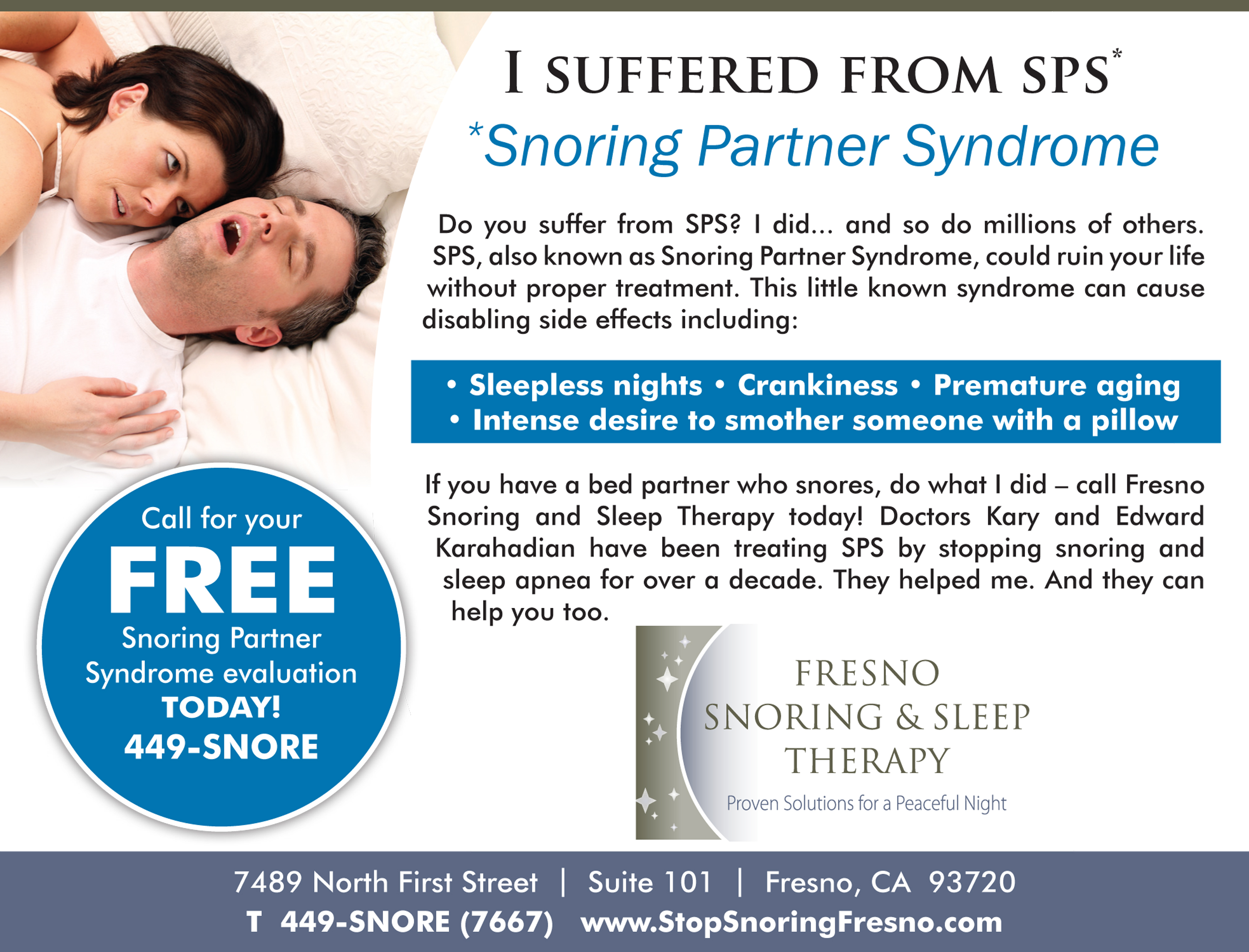 Snoring Partner Syndrome