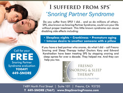 Snoring Partner Syndrome