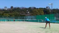 滋賀大スポーツカレッジ「SGU テニスアカデミー」開講