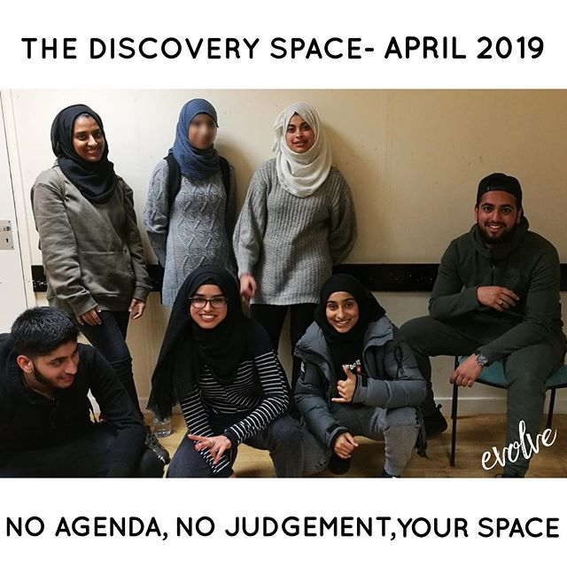 Our April Discovery Space was an interes