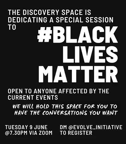 #BlackLivesMatter Discovery Space