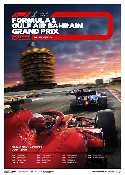 FORMULA 1 GULF AIR BAHRAIN GRAND PRIX 2021 | LIMITED EDITION