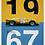 Thumbnail: Ferrari 412P - Yellow - Spa-Francorchamps - 1967 - Limited Poster
