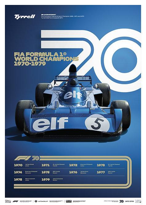 FORMULA 1® DECADES - 70s Tyrrell | Limited Edition