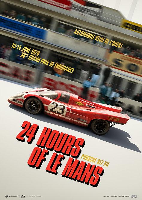 Porsche 917 KH - Past - 24h Le Mans - 1970   Collector's Edition