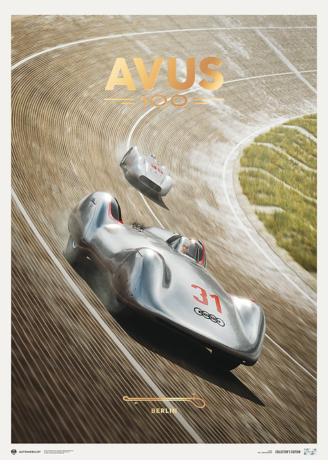 AVUS - 100TH ANNIVERSARY - 24 SEPTEMBER 2021 | COLLECTOR'S EDITION
