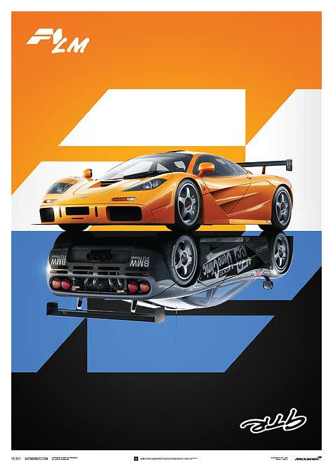 McLaren F1 LM / GTR - Poster
