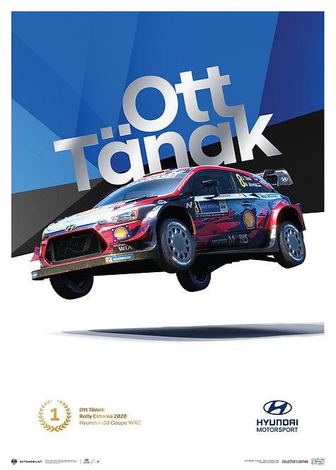 HYUNDAI MOTORSPORT - RALLY ESTONIA 2020 - Ott Tänak