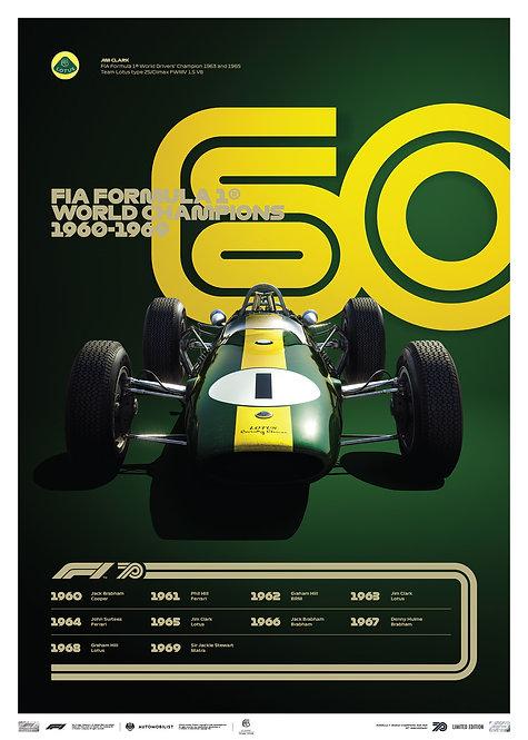 FORMULA 1® DECADES - 60s Team Lotus   Limited Edition