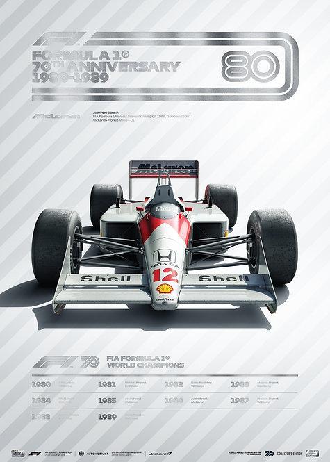 FORMULA 1® DECADES - 80s McLaren   Collector's Edition