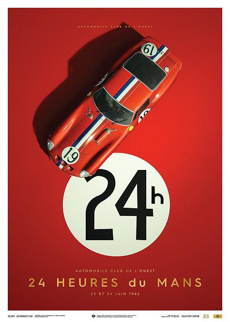 Ferrari 250 GTO - Red - 24h Le Mans - 1962 - Collector's Edition