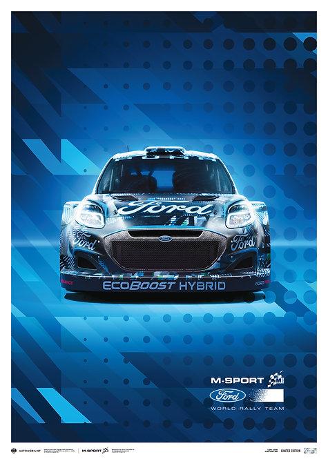 M-SPORT FORD PUMA HYBRID RALLY1 WRC - 2022   LIMITED EDITION