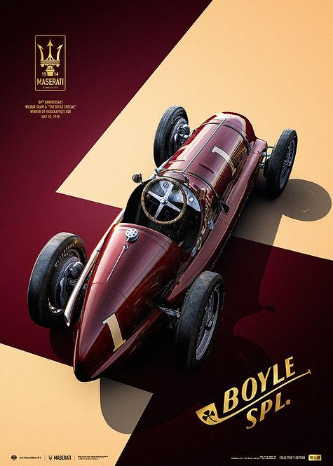 Maserati 8CTF - The Boyle Special - Indianapolis 500 1940 | Collectors Edition