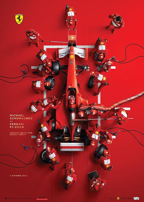 FERRARI F1-2000 - MICHAEL SCHUMACHER'S PIT STOP | COLLECTOR'S EDITION