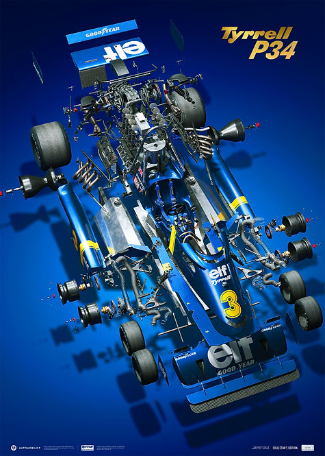 Tyrrell P34 - The Joy of Six Wheels | Collector's Edition