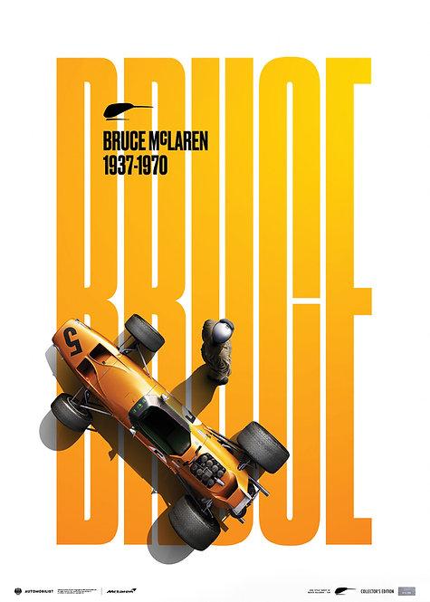 McLaren Papaya - Bruce McLaren special - Spa-Circuit - 1968 | Collectors Edition
