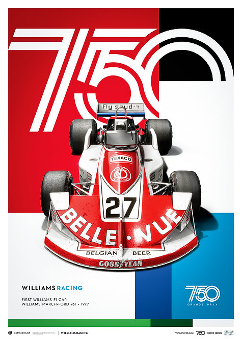 WILLIAMS RACING - MARCH-FORD 761 - 1977 | LIMITED EDITION