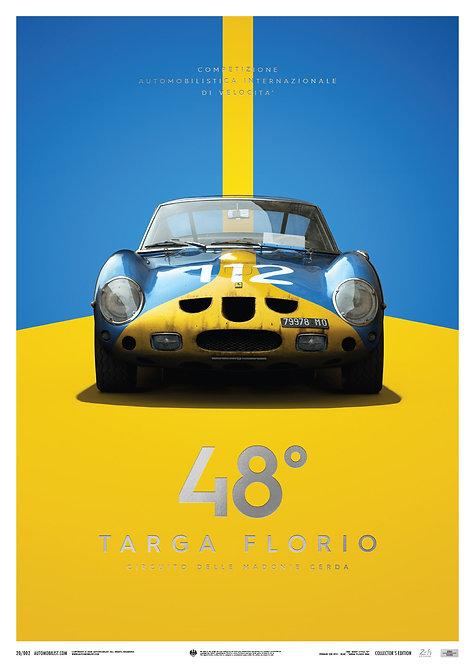 Ferrari 250 GTO - Blue - Targa Florio - 1964 - Collector's Edition