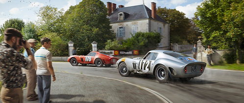 Silver Stallion Racing For Victory - Artwork